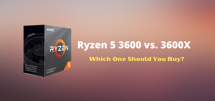 Ryzen 5 3600 vs. 3600X Comparison